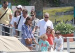 Roman Abramovich seen with his girlfriend Dasha Zhukova and children in Portofino