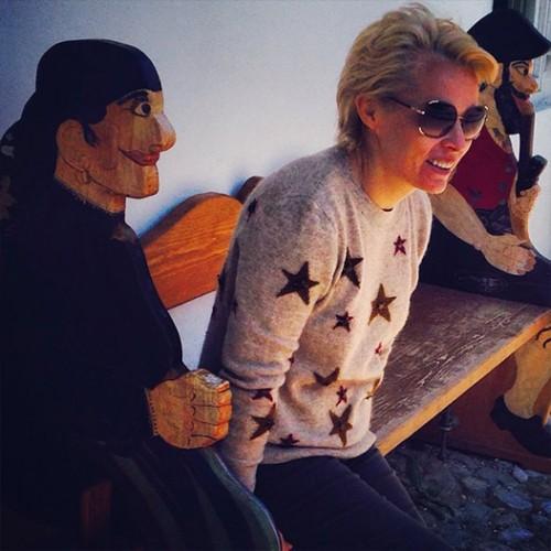 Ирина увлекается искусством и живописью