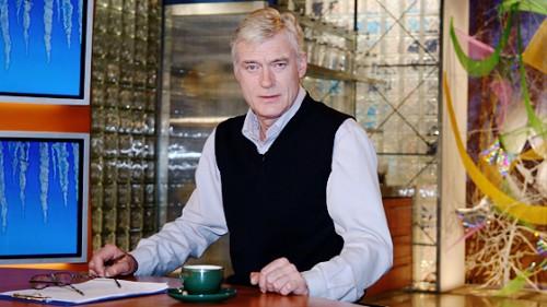 Борис Щербаков в эфире телепрограммы «Доброе утро»
