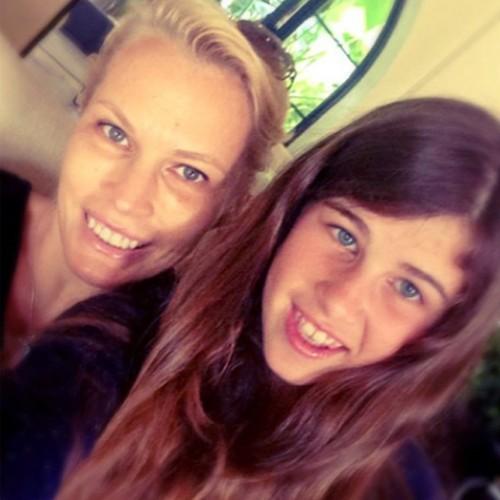 Ирина с младшей дочерью Ариной