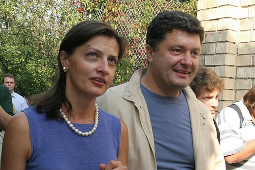 Марина и Петр Порошенко вне вспышек глянцевых фотографов