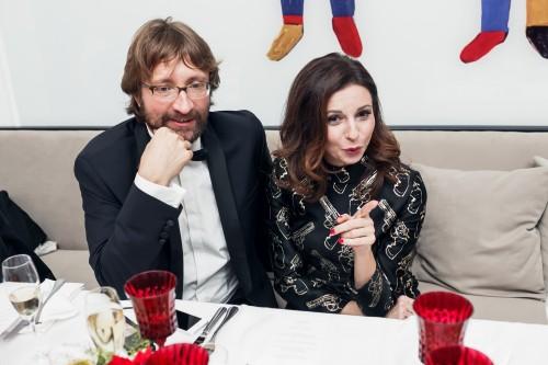 Алиса Хазанова появилась на мероприятии в сопровождении своего нового возлюбленного бизнесмена Дмитрия Шохина
