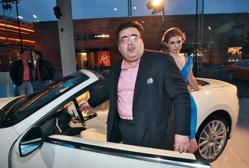 Алексей Митрофанов на вечеринке Maserati GranCabrio Фото: Василий Шапошников / «Коммерсантъ»