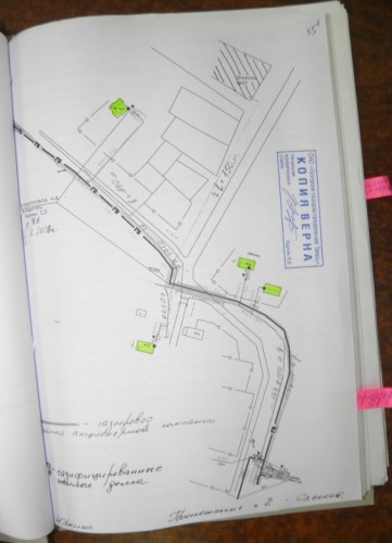 Заповедный газопровод на схеме. Из материалов арбитражного дела