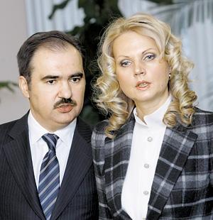 Дроздов со своей подругой и покровительницей Татьяной Голиковой, об имуществе которой мы уже писали