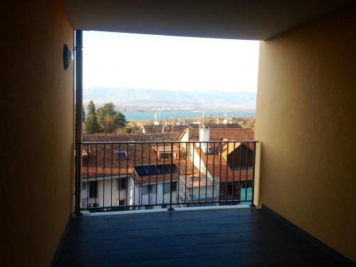 Вид с общего балкона в доме Голуховых