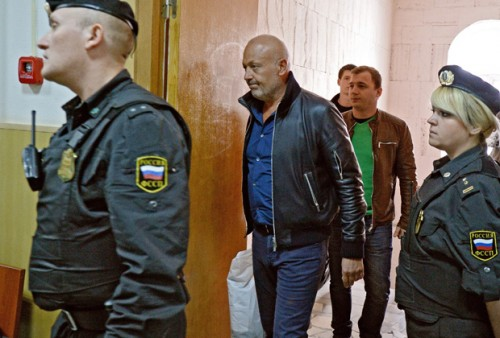 Александр Сабадаш (в центре) Фото: Петр Кассин / «Коммерсантъ»