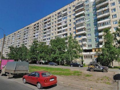 Тот самый дом на проспекте Наставников, где находится квартира Аркадия Ротенберга