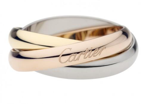 Кольцо Cartier из коллекции Trinity