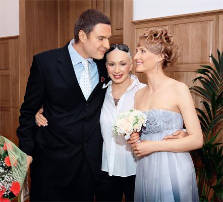 2008 год — свадьба Филиппа Васильева и Анастасии Бегунова