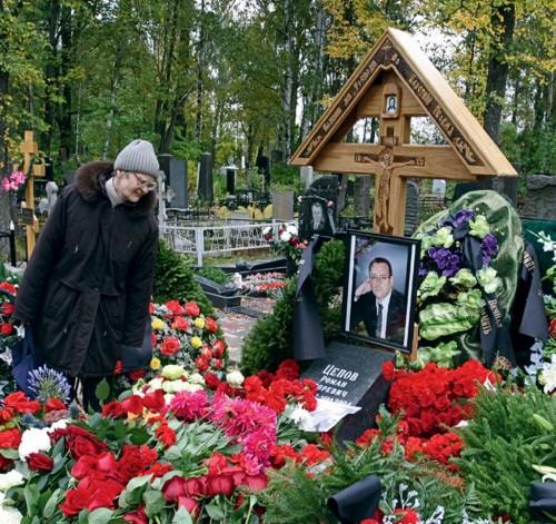 Похороны друга Золотова, генерального директора охранной фирмы «Балтик-Эскорт» стали событием в жизни Санкт-Петербурга. 27 сентября 2004 г.