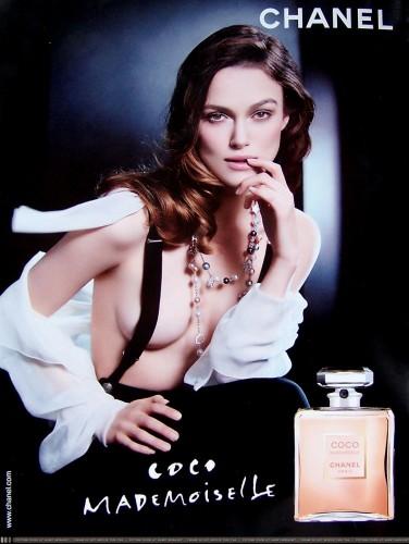 В рекламной кампании Chanel формам актрисы также прибавили объем