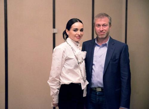 Диана Вишнева и Роман Абрамович