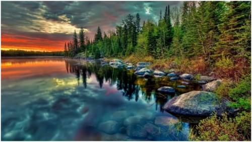 Весной прозрачность байкальской воды составляет целых 40 метров
