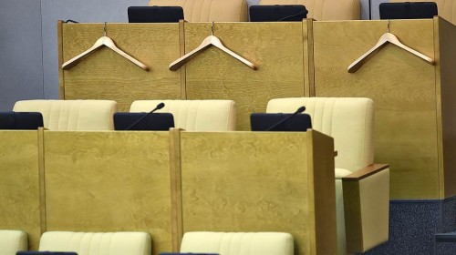 Из 2383 законопроектов, внесенных депутатами Госдумы VI созыва и сенаторами, законами стали 358 Фото: Дмитрий Духанин, Коммерсантъ