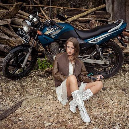 Юлия Барановская на Бали