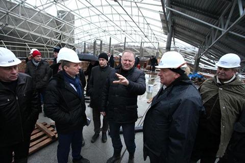 17 декабря 2014 года, губернатор Калининградской области Николай Цуканов лично проверил ход строительства театра эстрады в Светлогорске