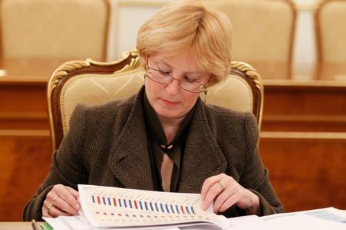 Вероника Скворцова. Фото: ИТАР-ТАСС/ Дмитрий Астахов