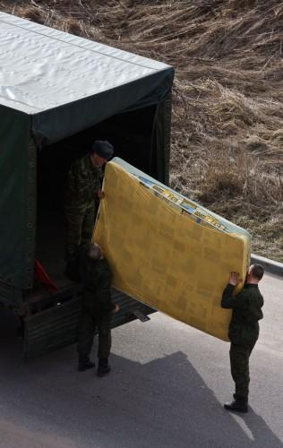 Регулярные челночные переезды становятся нормой для российских солдат. Фото: Фото: Photoxpress