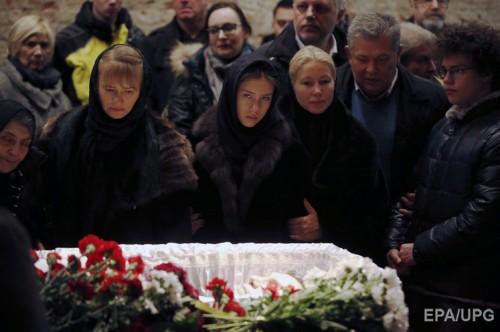 Дочь Дина (в центре) и сын Антон (справа)