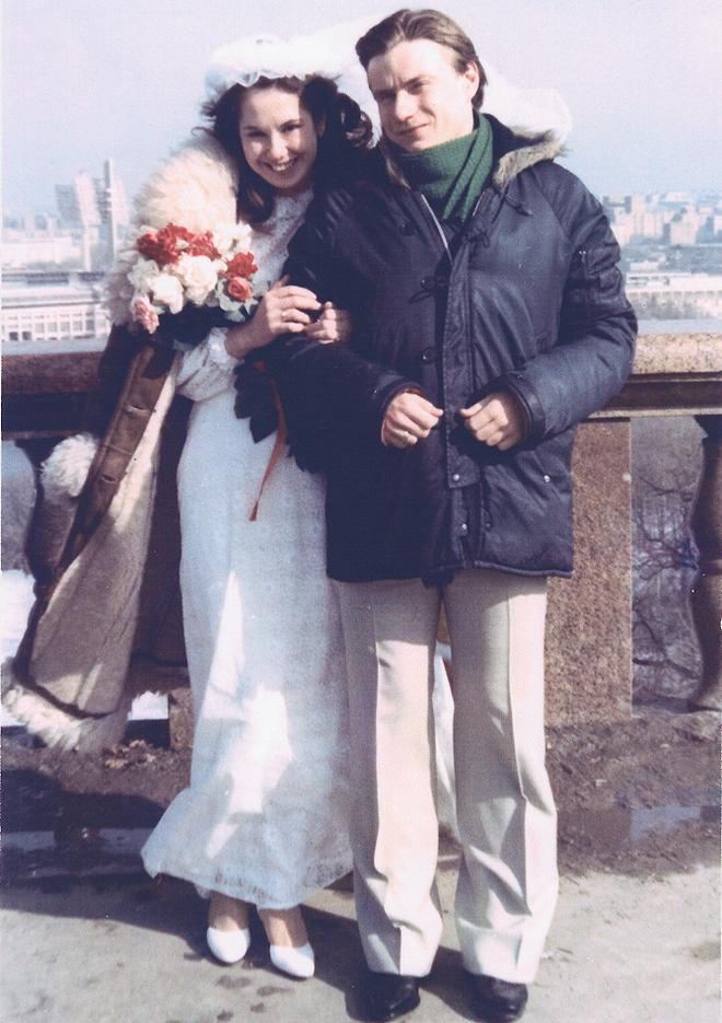 Свадьба с обязательной фотосессией на Воробьевых горах (1983)