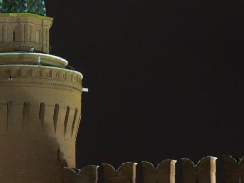 Камера на башне кремля направленная ровно на место убийства. Фото twitter.com