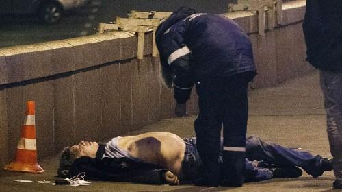 Оппозиционер Борис Немцов был застрелен вечером в пятницу, 27 февраля, рядом с Кремлем на Большом Москворецком мосту. Ему было 55 лет. Фото: КоммерсантЪ/Геннадий Гуляев