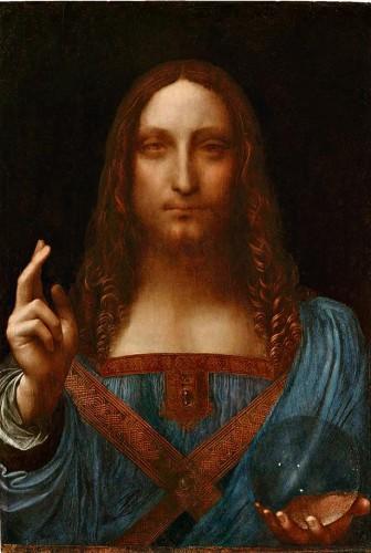Леонардо да Винчи. Salvator Mundi
