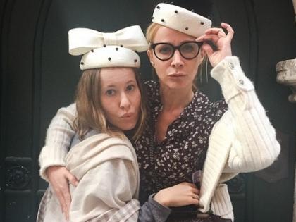 Ксения Собчак и Ника Белоцерковская отдыхают в Италии. Фото: социальные сети