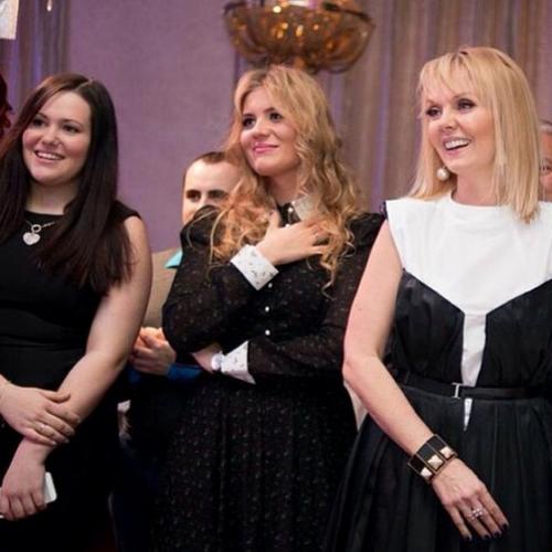 Валерия с дочерью Анной Шульгиной и дочерью Пригожина Данаей