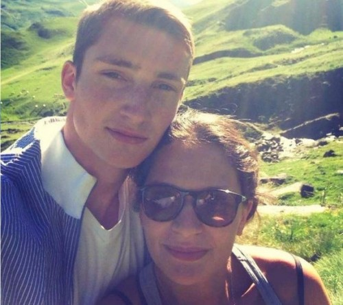 Рома со своей возлюбленной Катей