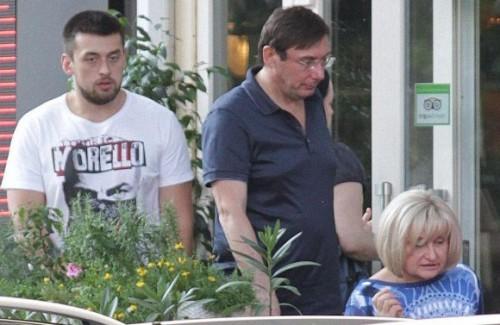 Сын Юрия и Ирины Луценко, депутатов от Блока Петра Порошенко