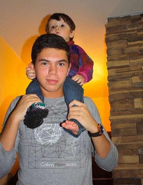 Данила с племянником
