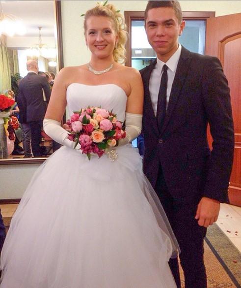 Данила на свадьбе своей старшей сестры Натальи