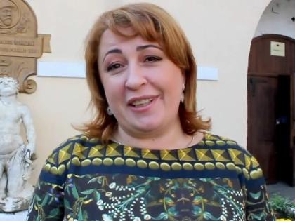 Новый руководитель ФГУП «ПАО «Массандра» Янина Павленко.Фото: с сайта youtube.com
