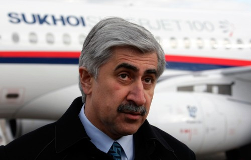 В январе этого года SSJ-100 потерял своего главного лоббиста Михаила Погосяна, освободившего должность президента ОАК.Фото: газета.ру