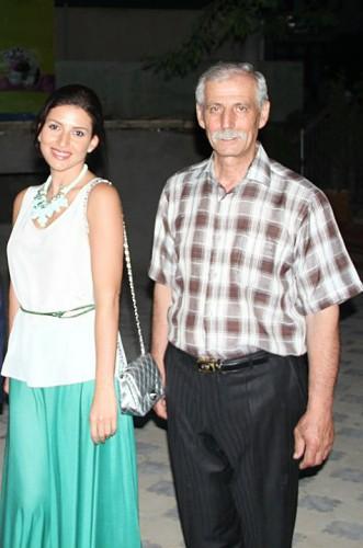 Певица Жасмин с отцом Львом Манахимовым