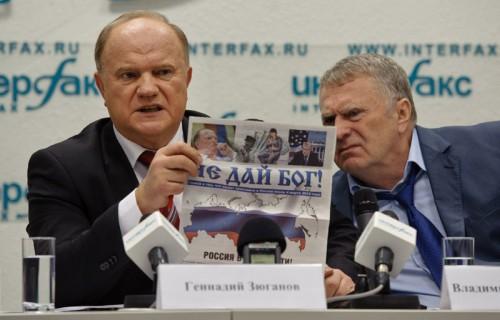 Если внезапно спонсоры стали вкладываться в ЛДПР и КПРФ, значит, это надо самой власти, иных вариантов просто нет. Фото: russian.people.com.cn
