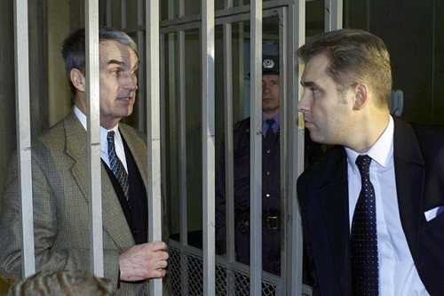 Эдмонд Поуп и Павел Астахов суде. 19 сентября 2000-го Фото: Игорь Табаков / fotoimedia / ТАСС