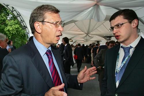 Владимир Евтушенков и Феликс Евтушенков. Фото: Коммерсантъ