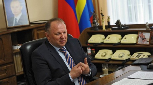 Губернатор Калининградской области Николай Цуканов. Фото: Юрий Мартьянов / Коммерсантъ
