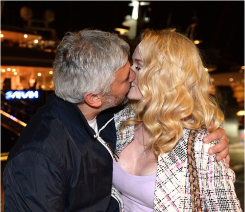 Николай Саркисов с новой любовницей Ольгой Данкой