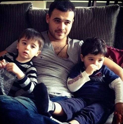 Лейла Алиева в браке с Эмином Агаларовым родила ему двух сыновей-близнецов. Фото: cdn.trend.az