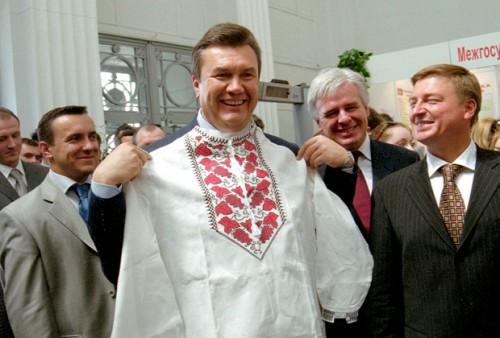 Премьер-министр Украины Виктор Янукович, 2004 год Фото: Василий Артюшенко / «Коммерсантъ»