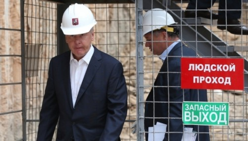 """Мэр Москвы Сергей Собянин. Фото: Журнал """"Компания"""""""