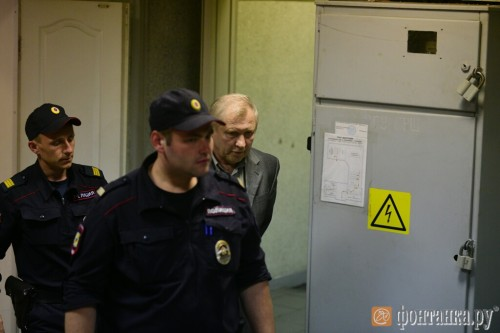 Михаил Глущенко в суде.Фото: Сергей Николаев, Фонтанка.ру