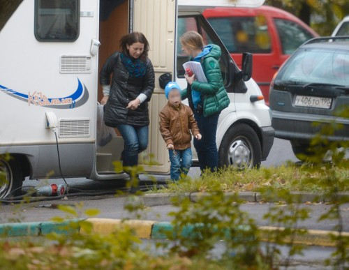 Кристина Смирнова с пятилетним сыном Иваном