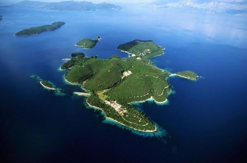Личный остров дочери Рыболовлева