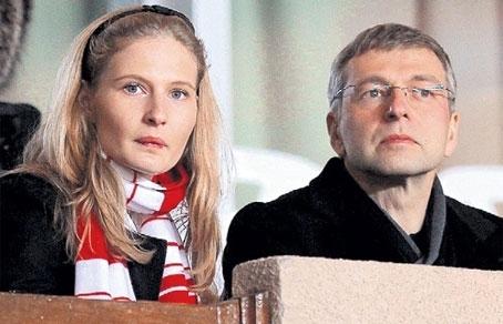 Дмитрий Рыболовлев с дочерью Екатериной