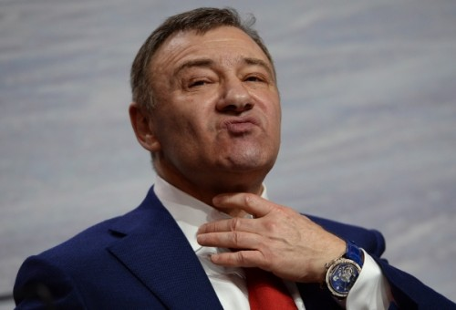 Пресс-конференция Федерации хоккея России